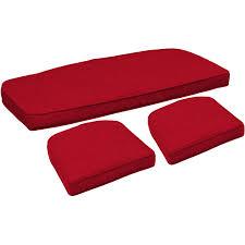 Settee Cushion Set by 100 Wicker Settee Cushion Sets Blazing Needles 19 X 19 In