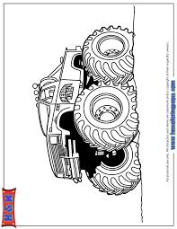 big wheels monster truck coloring u0026 coloring pages