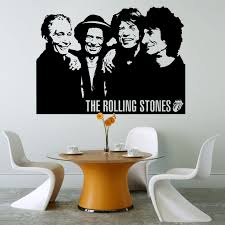 rolling stones wall stickers u0026 decals