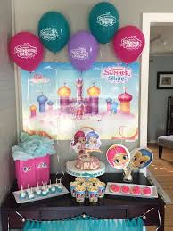 toddler birthday party ideas shimmer and shine birthday party ideas and supplies plenty of