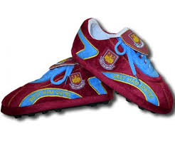 West Ham Duvet Cover West Ham Sloffies Football Slippers West123 Uksoccershop