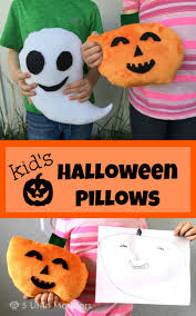 halloween pillows 5 little monsters october 2015