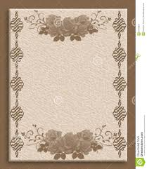 formal invitation border textured stock images image 8103904
