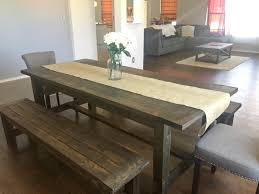 how to make a diy farmhouse dining room table restoration hardware