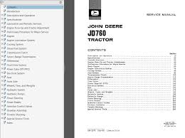 john deere jd760 tractor pdf service manual sm 2075 pdf