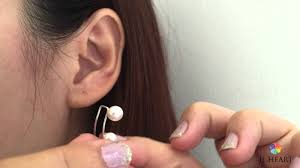 ear earings how to wear ear climbers