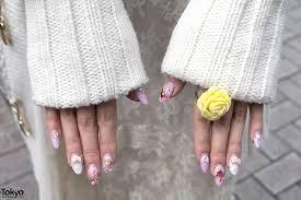 rose ring u0026 japanese angel nail art u2013 tokyo fashion news