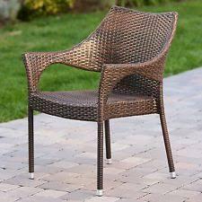 Patio Armchair Wicker Patio Armchair Chairs Ebay
