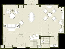 rosen shingle creek floor plan luxury orlando meeting convention hotel hospitality suite