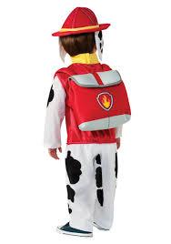 fireman halloween costume kids paw patrol marshall child costume