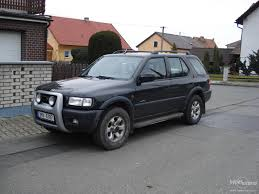 opel frontera view of opel frontera 2 2 i photos video features and tuning
