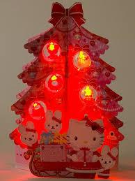 hello christmas tree hello pink christmas tree lights melody pop up greeting card
