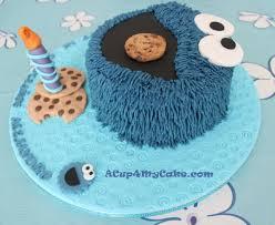 cookie monster cake u0026 sesame street cupcakes acup4mycake