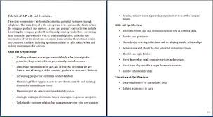 Salesperson Skills Resume Life Insurance Agent Job Description For Resume Resume For Your
