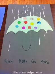 rainy day craft with a fine motor twist the autism helper