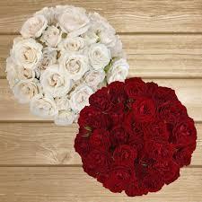 bulk flowers online spray roses 40cm pack 120 stems white flowers sprays and