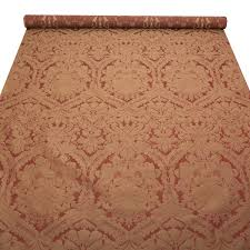 Traditional Upholstery Fabrics Traditional Floral Damask Satin Coordinating Stripe Curtain