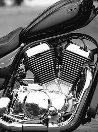 suzuki motorcycle black this custom 1996 suzuki 900 intruder has a monster within