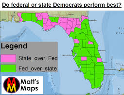 Map Of Florida Panhandle by Florida U0027s Panhandle Does Race Or Party Sink It For Obama In The
