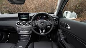 mercedes a class mercedes a class hatchback interior dashboard satnav carbuyer