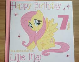 personalised my little pony special box frame