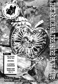 Armchair Treasure Hunt Books The Armchair Treasure Hunt Club Newsletters 1995