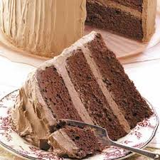 sour cream chocolate cake recipe taste of home