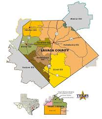 map of county lavaca county maps
