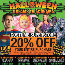 pittsburgh halloween store halloween costumes in pittsburgh