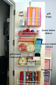 gift wrap storage ideas awesome wrapping paper storage ideas small home ideas