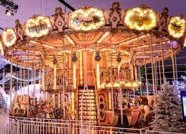 christmas carousel carousel