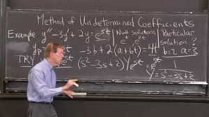 differential equations and linear algebra 2 6b an example of