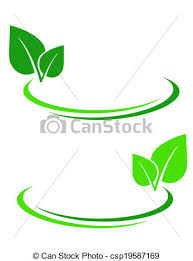 Decorative Line Clip Art Clip Art Vector Of Background With Green Leaf And Decorative Lines