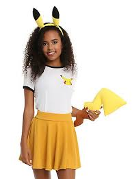 Pikachu Halloween Costume Men Pokemon U0026 Pikachu Shirts Merchandise U0026 Apparel Topic