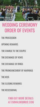 order of ceremony for wedding program ideas epic renewing wedding vows poems ideas morgiabridal