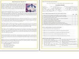 world kindness day reading comprehension worksheet text