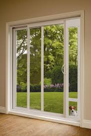 patio pet door insert for sliding doors temporary dog doors
