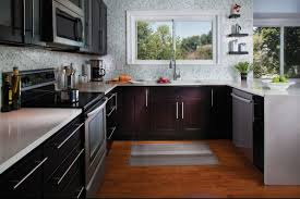 Dark Shaker Kitchen Cabinets Cabinet Refacing Colors To Sell Your Home Granite