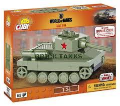 lego army tank t 34 nano tank lego compatible cobi 3021 62 brick medium