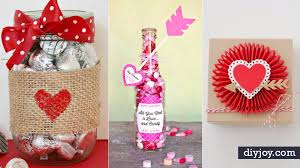 Diy Valentines Day Gift Guide For Friends Family 50 Cool And Easy Diy S Day Gifts Diy Gift