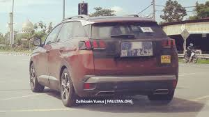 peugeot cars philippines price list spied new peugeot 3008 sighted testing lhd model