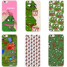 Meme Iphone 5 Case - pepe memes sad frog hard transparent phone case cover coque for