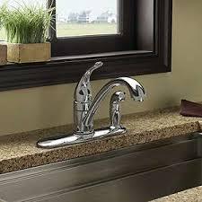 moen torrance kitchen faucet ca87484 torrance chrome 1 handle kitchen faucet w side sprayer