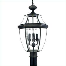 how to install outdoor light post installing outdoor l post outlet box wire outdoor l post