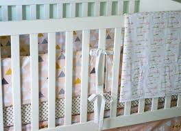 gold dot crib sheet trend lab 3pc crib bedding set wild forever