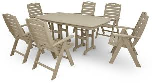 patio weatherproof outdoor furniture composite picnic tables
