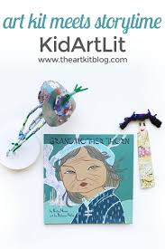 kidartlit art kit meets storytime delivered