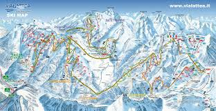 Torino Italy Map by Sauze D U0027oulx Piste Map Plan Of Ski Slopes And Lifts Onthesnow
