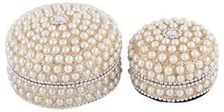 Pearl Home Decor Houzzplus Handicraft Designer Pearl Work Decorative Box Corporate
