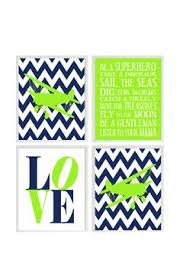 Navy And Green Nursery Decor Nursery Decor Lime Green Navy Blue Lime By Blockaholicboutique